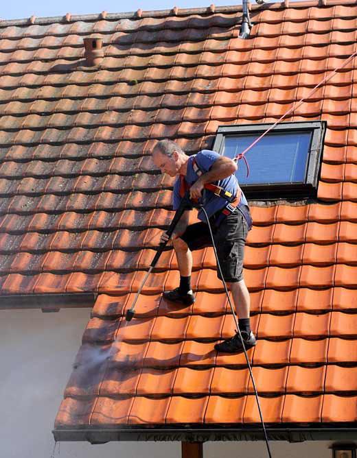 Pro Nettoyage 85 Travaux et nettoyage de toitures et façades à Venansault en Vendée.